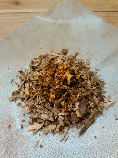 香り玉手順1