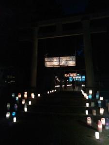 """益救神社 """"六月灯祭"""""""